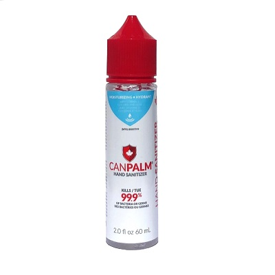 SANITIZER,HAND CANPALM, WITH VITAMIN E,60ml