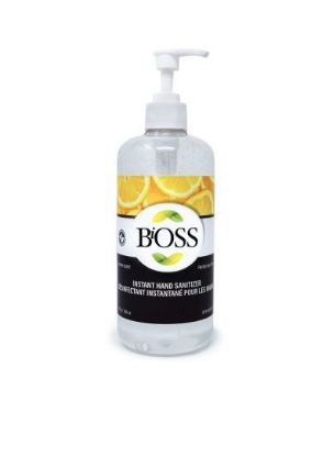 SANITIZER,HAND,ANTISEPTIC *LEMON,500mL
